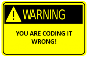 you_are_coding_it_wrong